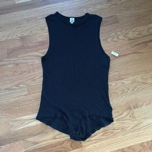 Free People All The Time Sleeveless Bodysuit